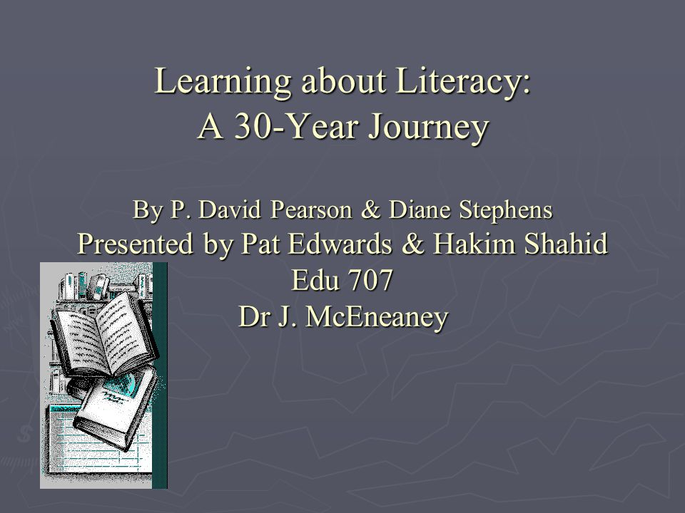 Learning about Literacy: A 30-Year Journey By P