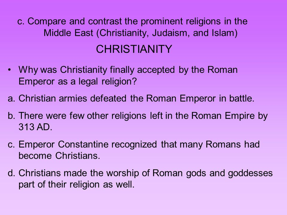 Compare and Contrast: Muslim Empires