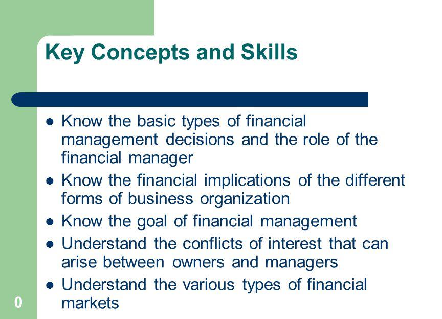 goals of financial management pdf