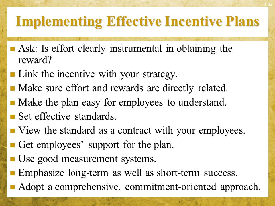 Rewarding performance ppt download for Long term incentive plan design