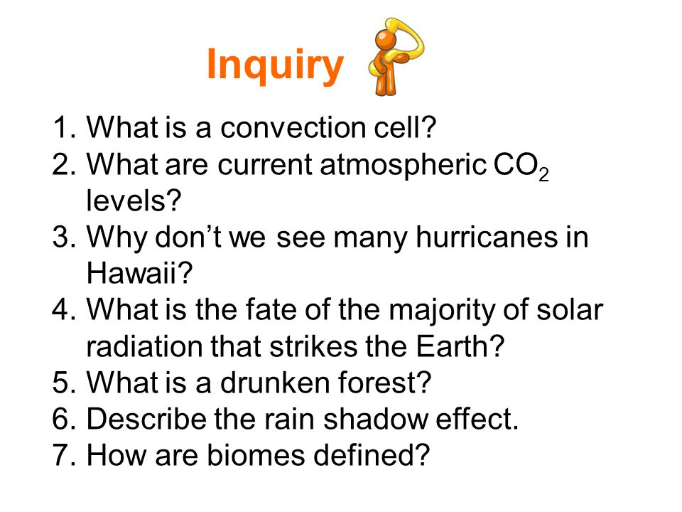 Why is one area of the earth\'s land surface a desert, another a ...