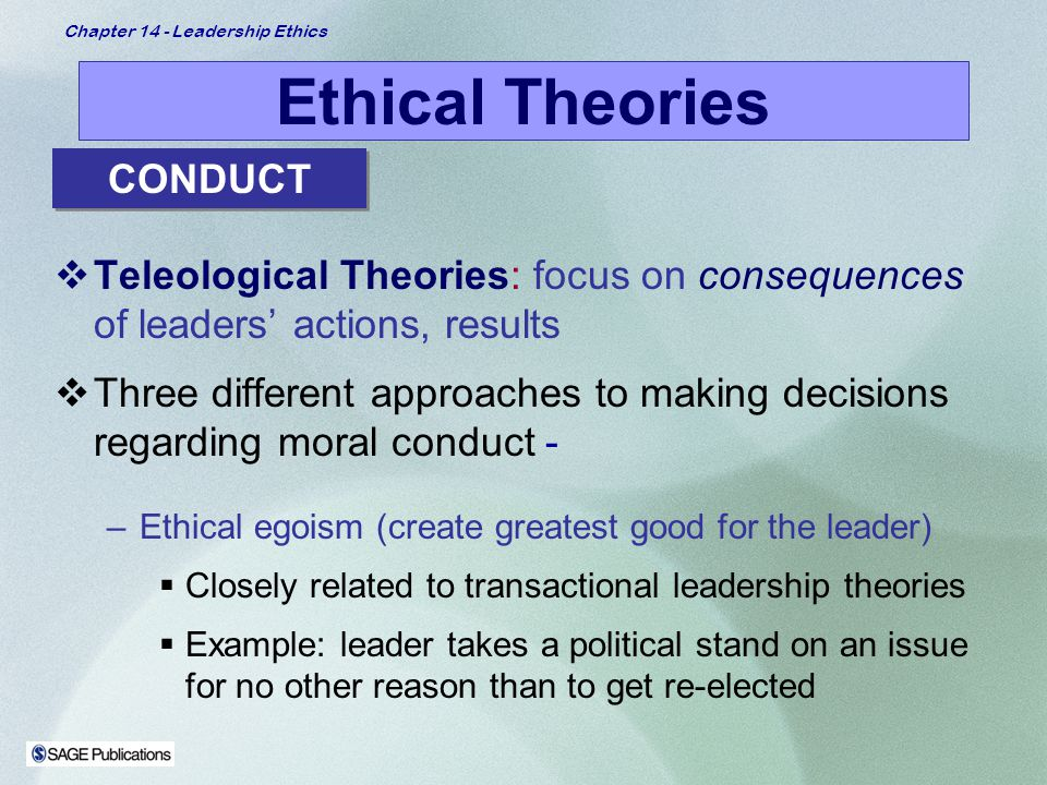 Chapter 14 – Leadership Ethics - ppt video online download