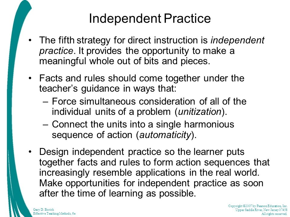 what is direct instruction teaching strategy