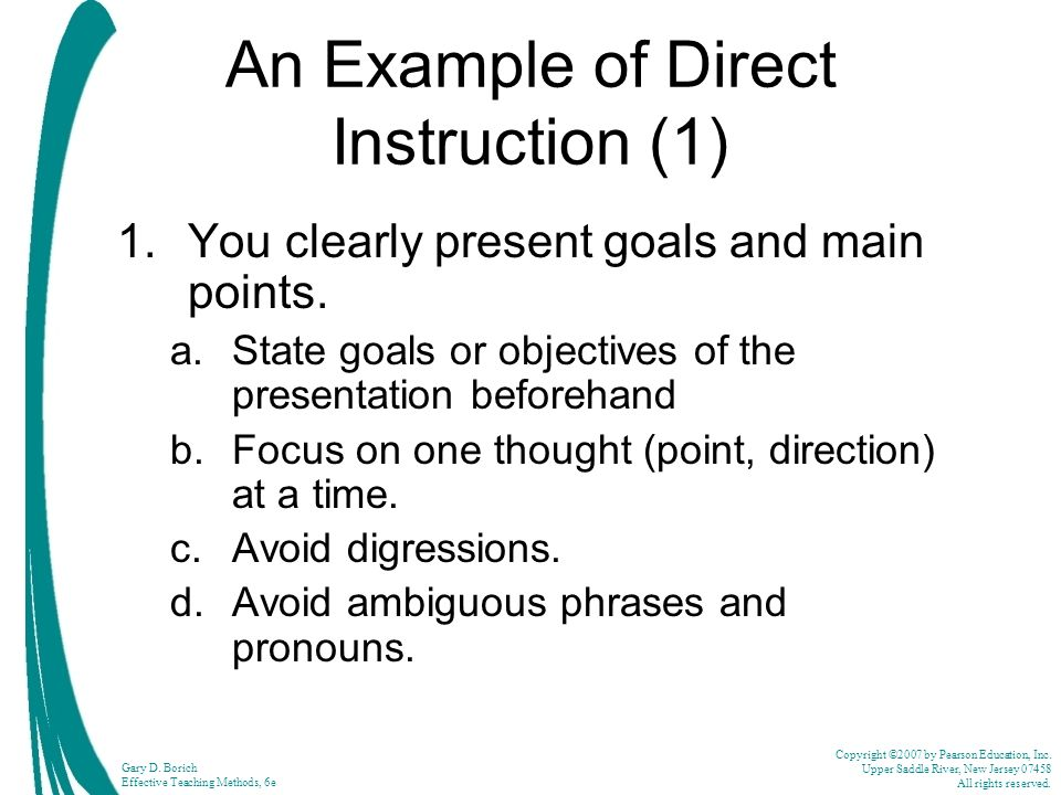 dpe and goal instruction Discuss with a teacher of students with intellectual disability (id) diagnosis/prescription/evaluation and analyses of goal instruction, including the implementation.