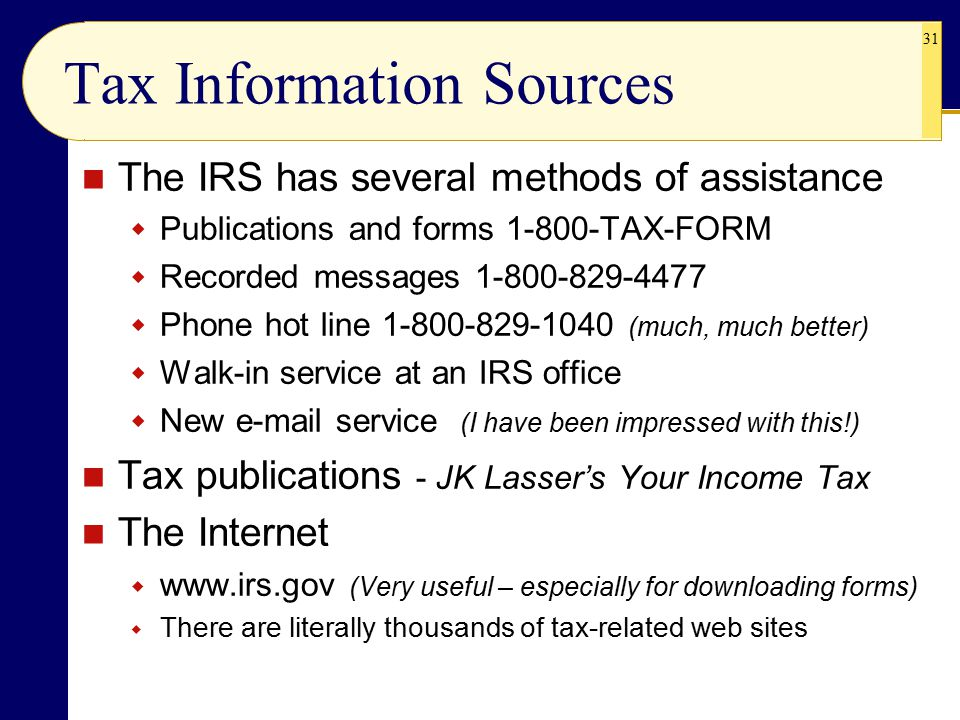 Taxes in Your Financial Plan - ppt video online download