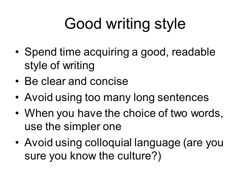 Good words use definitive essay