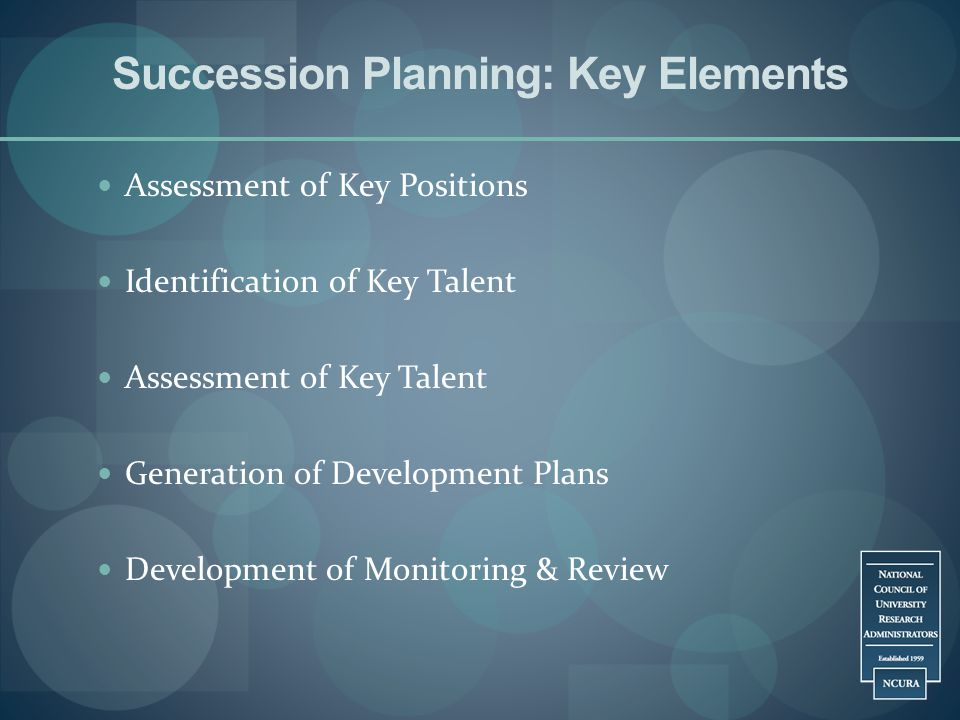 Succession Planning: Key Elements