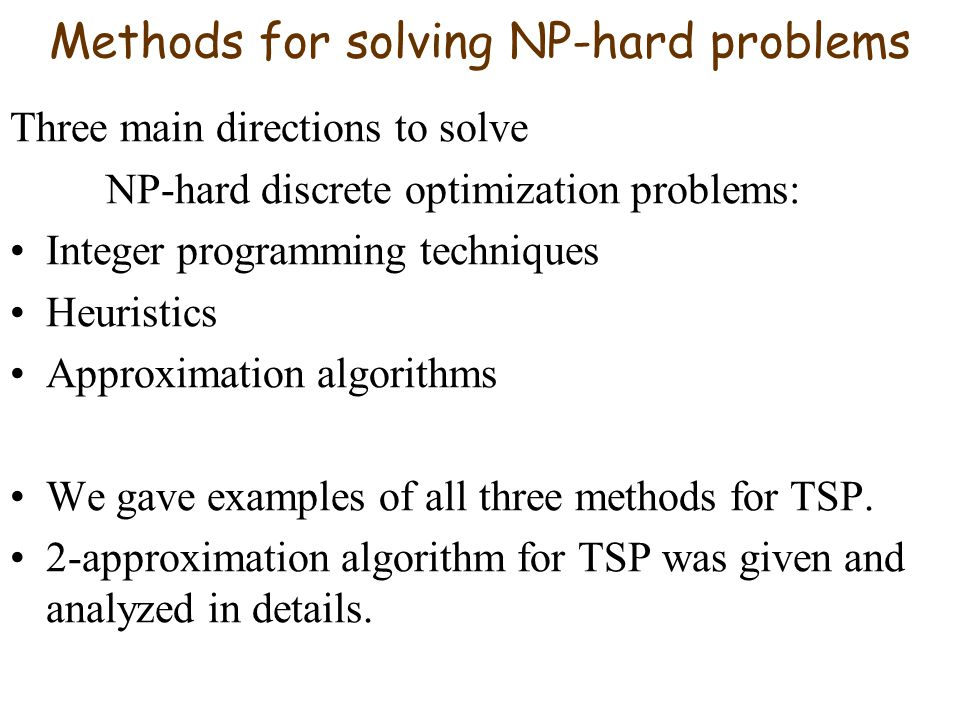 Mathematical Modeling And Optimization Summary Of Big