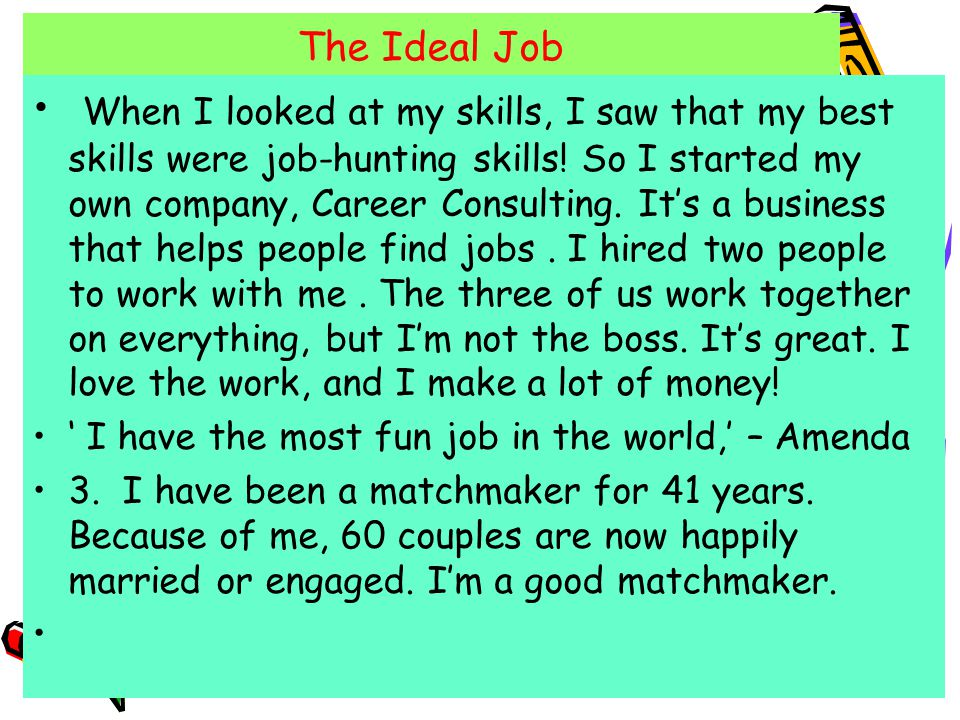 my ideal job and career Best in class company is hiring nationally as a result of rapid growth ideal image is hiring sales, registered nurses, nurse practitioners, physician assistants, medical directors, and customer service thank you for your interest in a career with ideal image the best jobs provide the means.