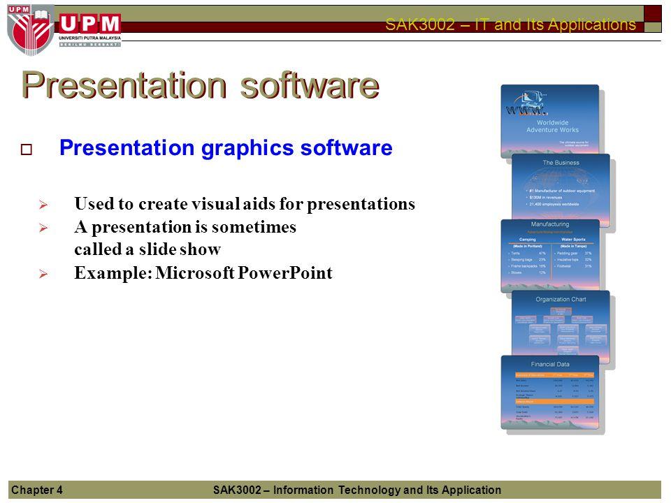 4 application software chapter ppt download 25 presentation software toneelgroepblik Gallery