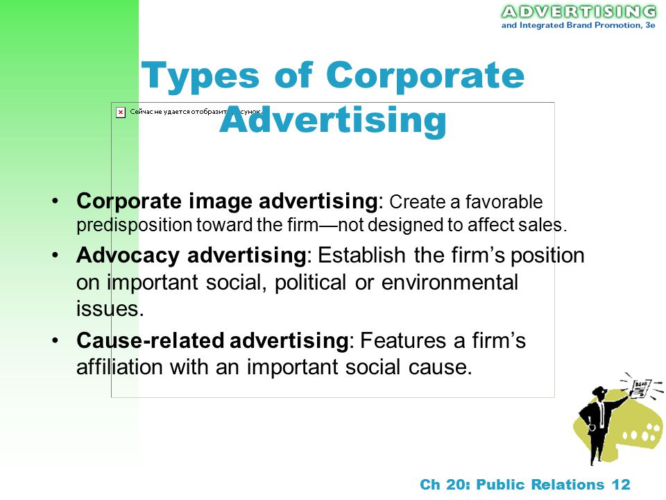 Chapter 20 Public Relations And Corporate Advertising