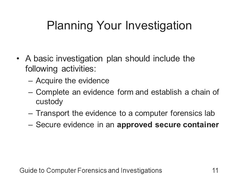 Classroom Design Should Follow Evidence ~ Guide to computer forensics and investigations third
