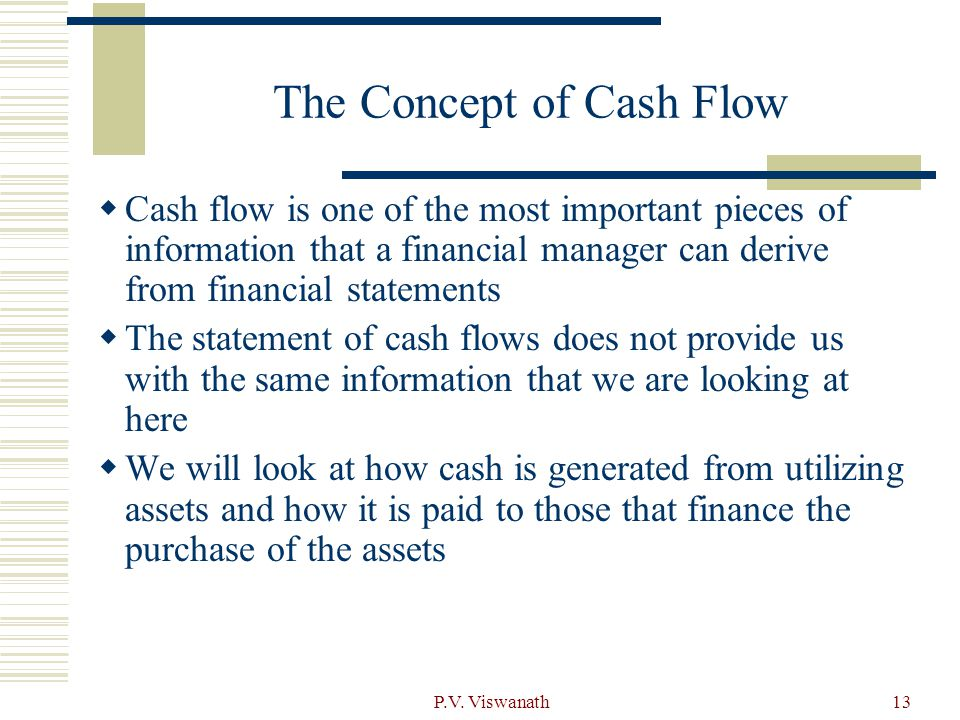 financial statements  taxes and cash flow