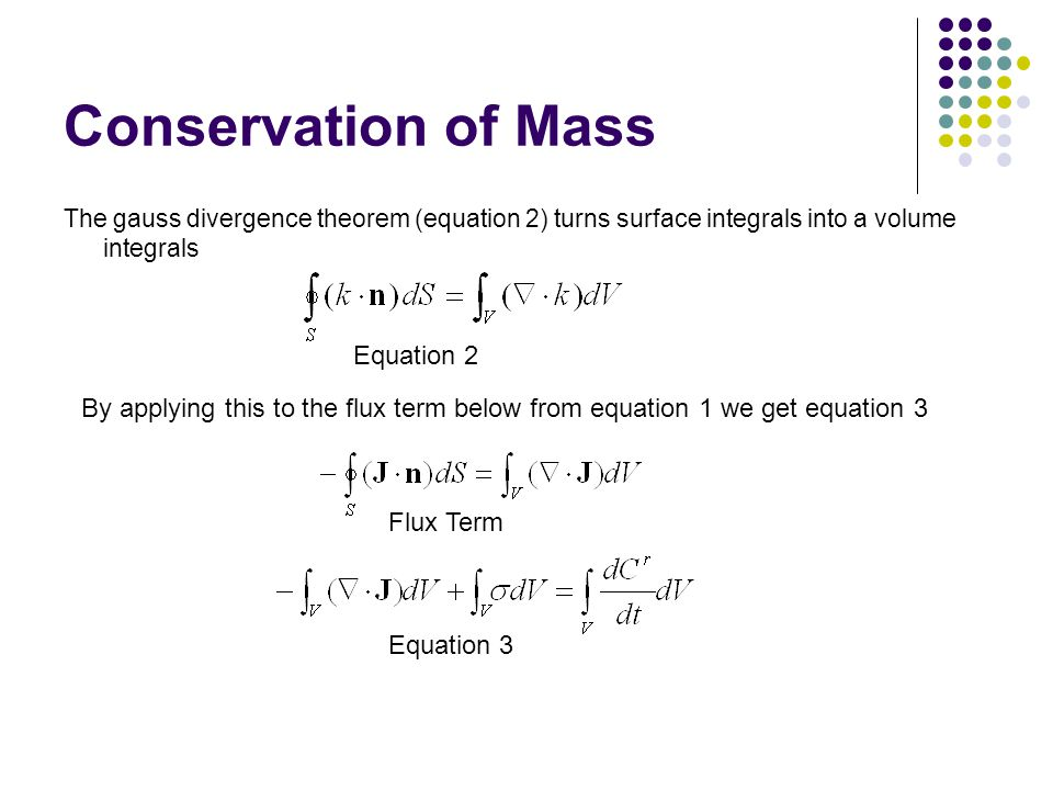 the advection dispersion equation ppt video online download