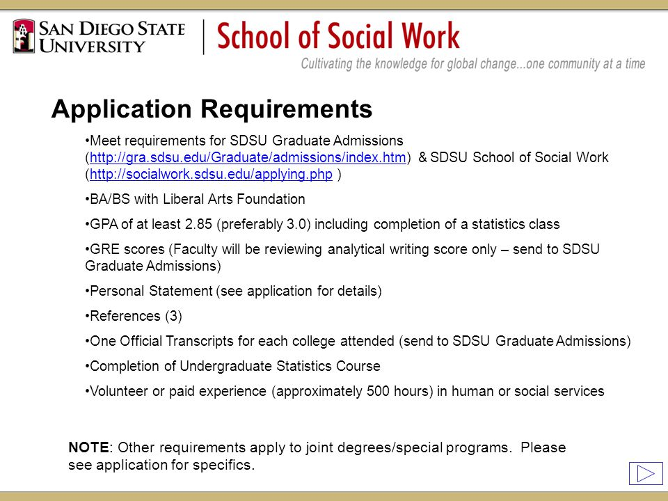 personal statement social work degree Get help with your graduate school personal statement or grad school social work other no matter what you plan to study or which degree you seek.