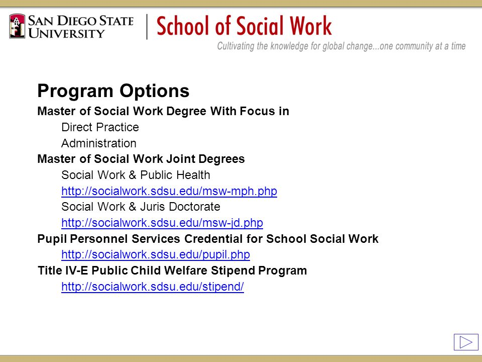 sdsu mph thesis About the mph curriculum the mph program at usc requires course work in the five core areas of public health: epidemiology, biostatistics, health policy and management, environmental and.