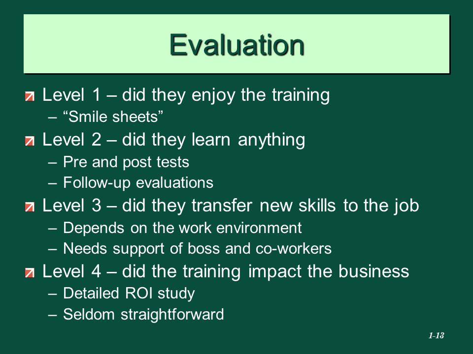 an analysis of the computer skills evaluation for new trainees Workplace evaluation  and the confidence to contribute more to new zealand's economy for trainees/learners  a snapshot of literacy and numeracy skills.