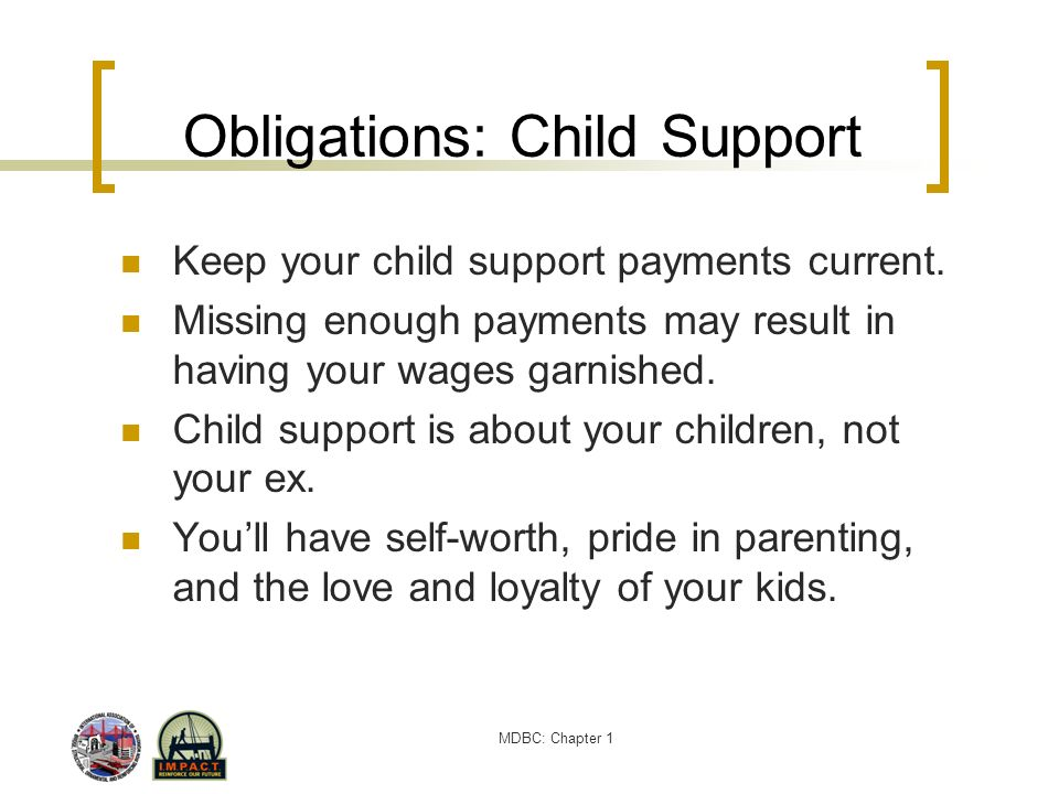 Obligations: Child Support