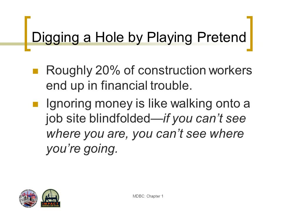 Digging a Hole by Playing Pretend