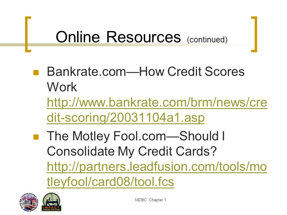 Online Resources (continued)