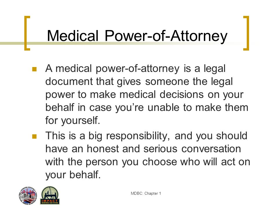 Medical Power-of-Attorney