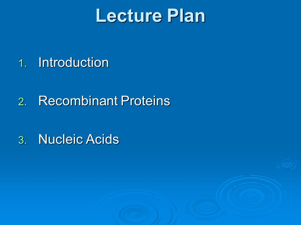 introduction to nucleic acids pdf