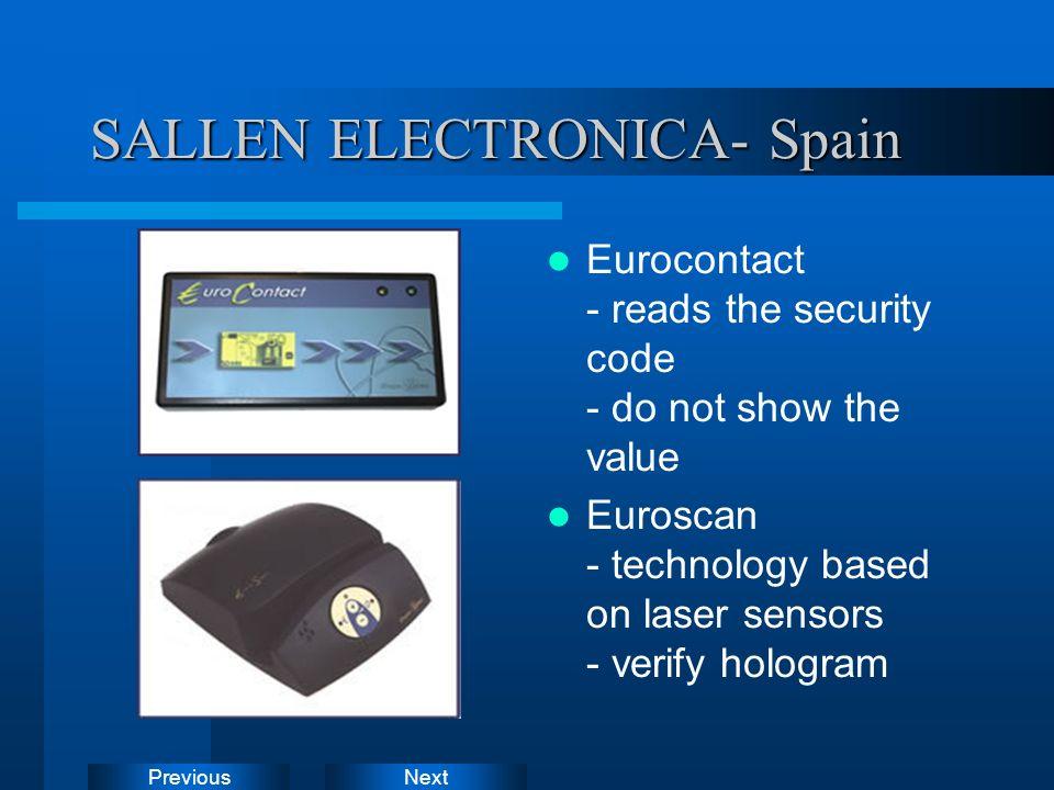 SALLEN ELECTRONICA- Spain