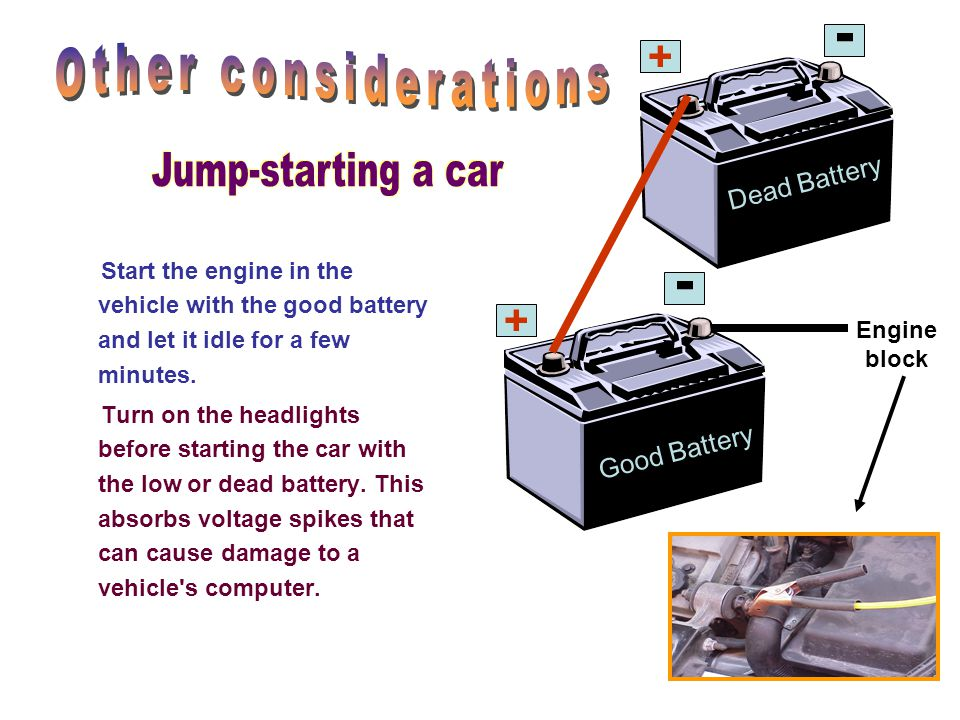 How does a car engine idle before battery dies 10