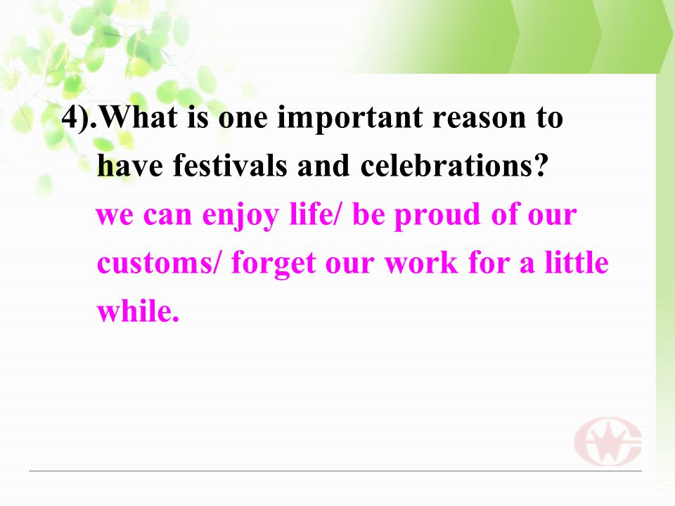 importance of festivals and celebrations in our daily life Importance of festivals albeit busy nature of people with their packed schedule, they never miss a chance to take part in the celebrations particularly in recent times the importance and prominence of festivals grew to a great extent.