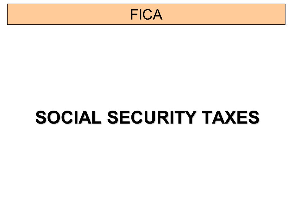how to pay fica taxes