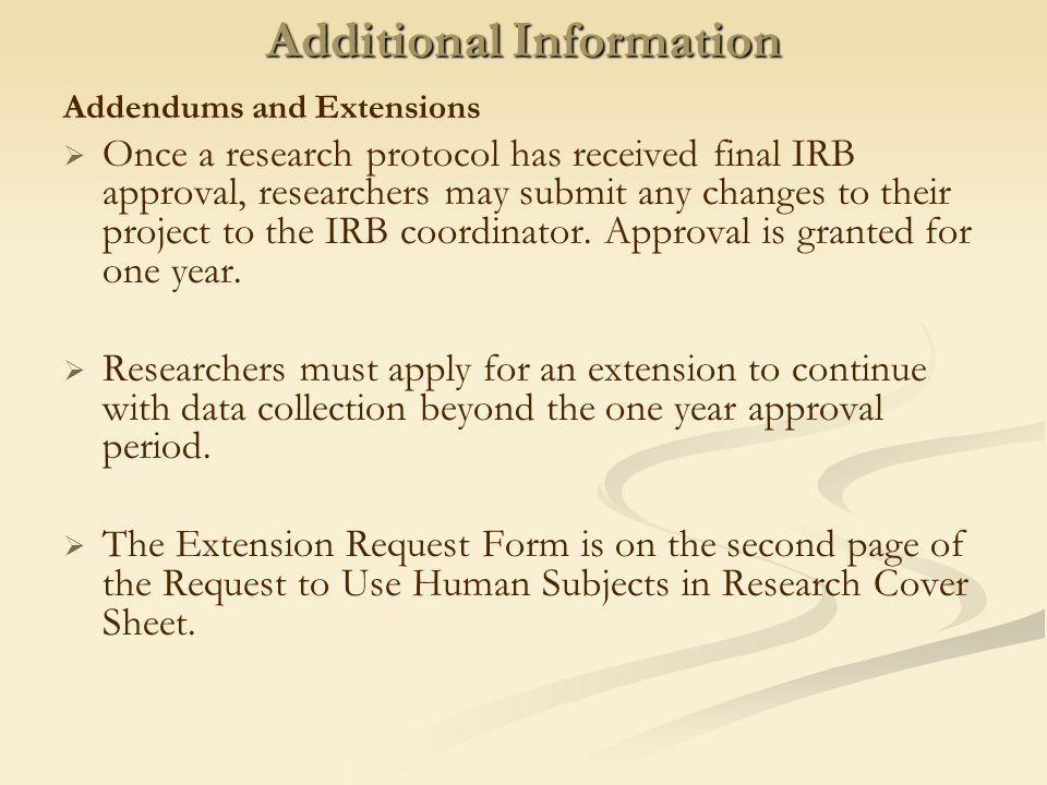 ppt download – Irb Cover Letter Sample