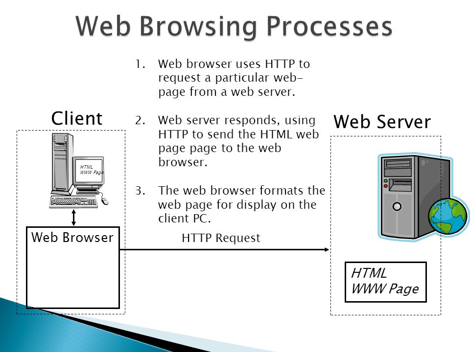 Web Browsing Processes