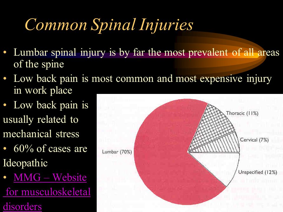 Common Spinal Injuries