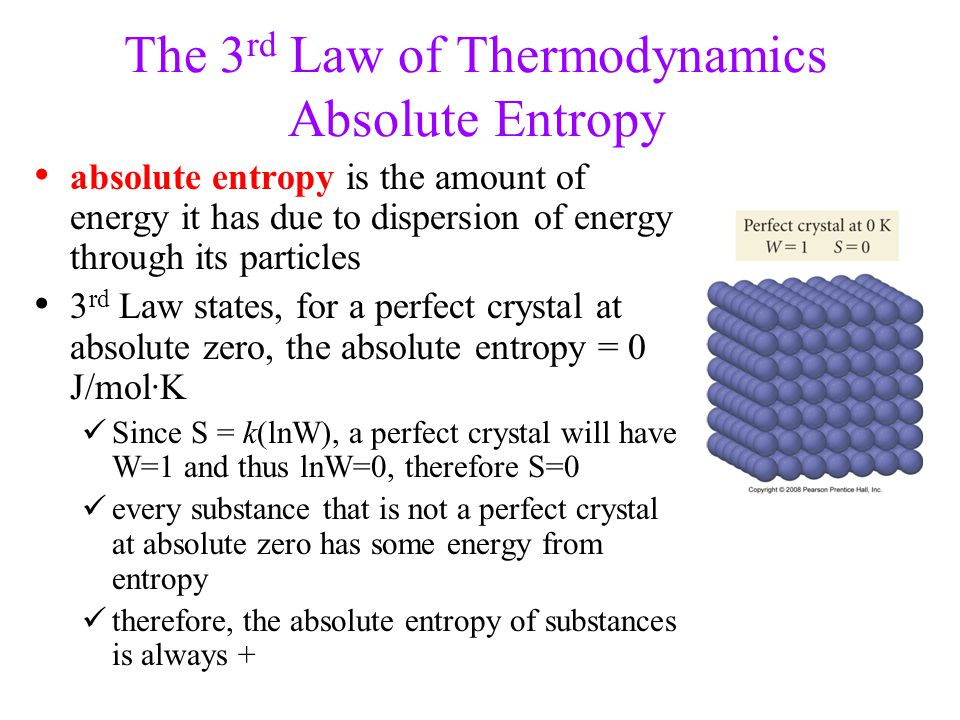 thermodynamics entropy The second law of thermodynamics is arguably the most misunderstood law of  physics and not only by students even the greatest physicists.