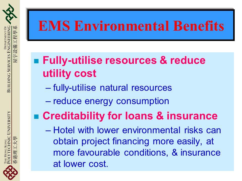 EMS Environmental Benefits