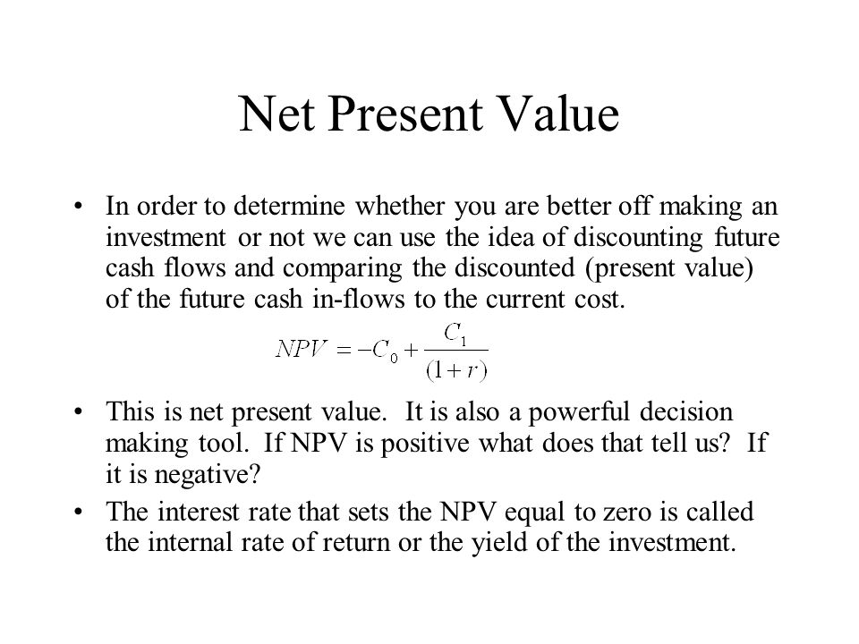 net present value and fiat Cryptocurrency evangelists claim bitcoin is superior to fiat currencies, but its present incarnation  a store of value fiat  their net worth, they convert.