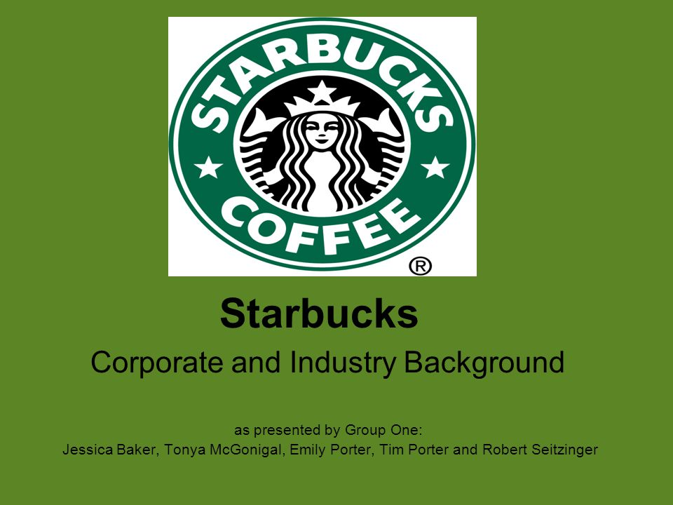 starbucks industry background Coffee shops industry overview  companies in this industry sell coffee drinks and other  (the coffee bean & tea leaf), peet's coffee & tea, and starbucks.