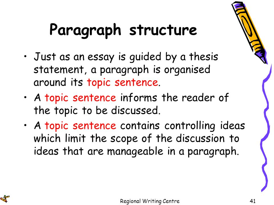thesis statement contains controlling idea essay