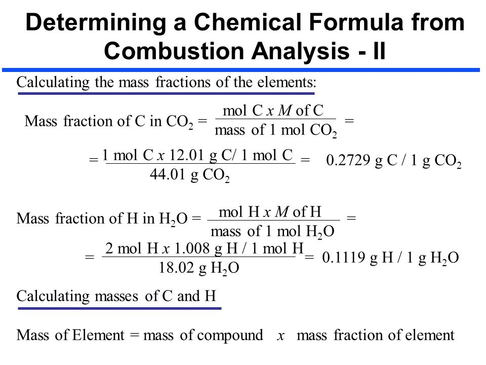 determining the chemical formula of a Our chemical analysis scientists have considerable expertise in determining the chemical composition of a sample,  chemical composition testing: • chemical.