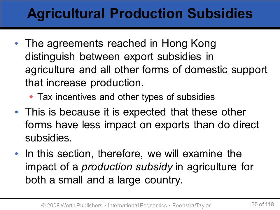 effects of big business subsidies on Of the $29 billion in government handouts that corporations receive  its effect is  nullified by the governments' ongoing massive subsidies to.