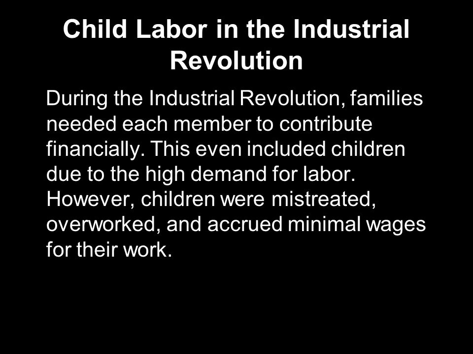 child labor during the industrial revolution pdf