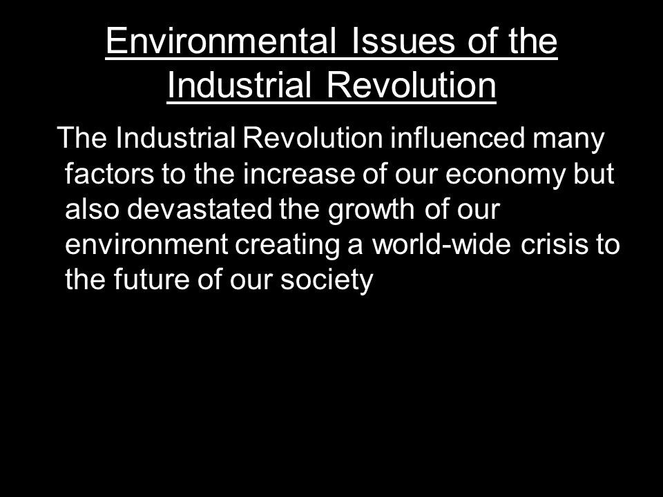 factors contributing to the industrial revolution All of these factors came together in the late 18th century to create the unique conditions in england that culminated in the first-ever industrial revolution: the agricultural revolution discussed earlier resulted in increased food production and increased population in england first.