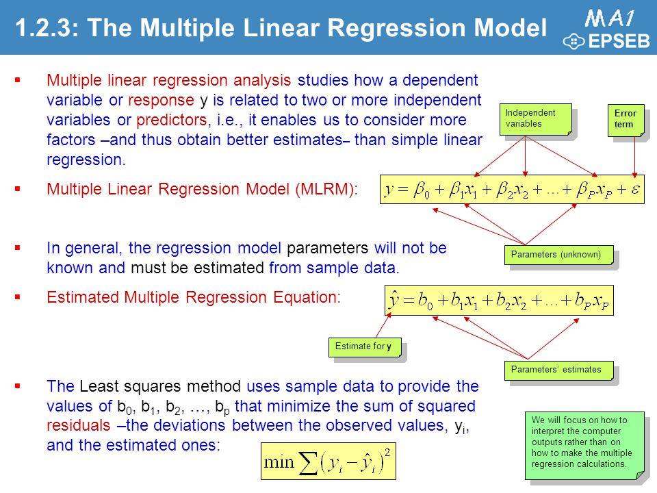 multipel linjär regression excel