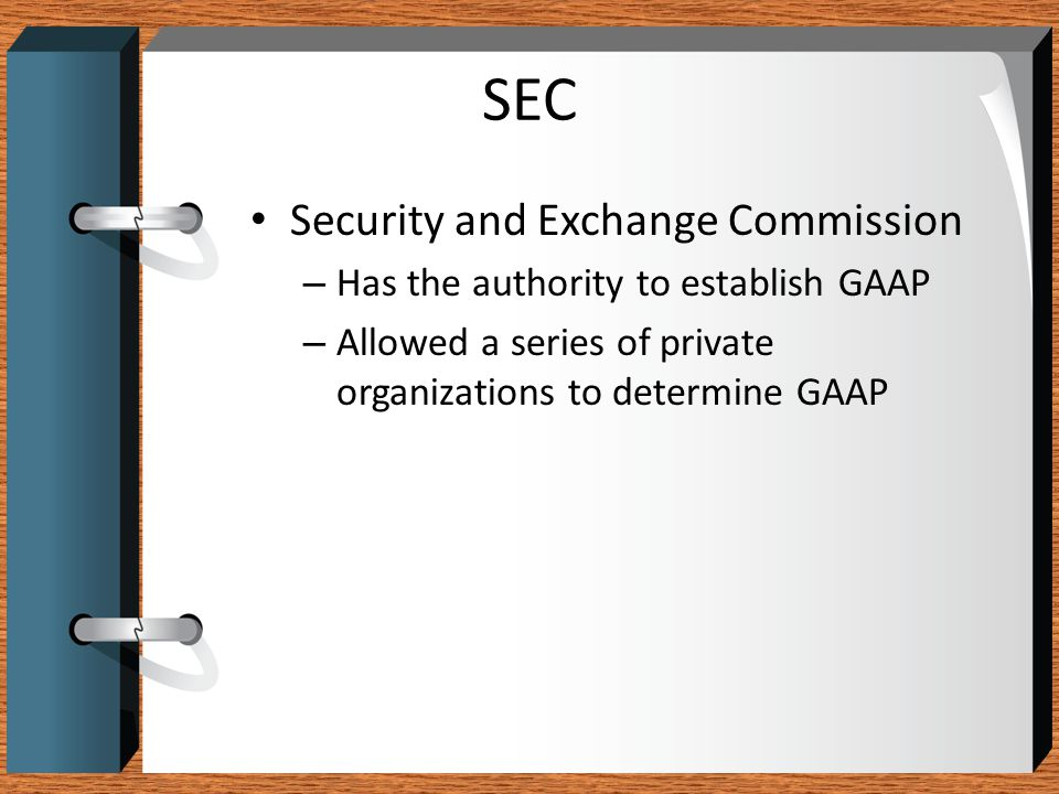 SEC Security and Exchange Commission