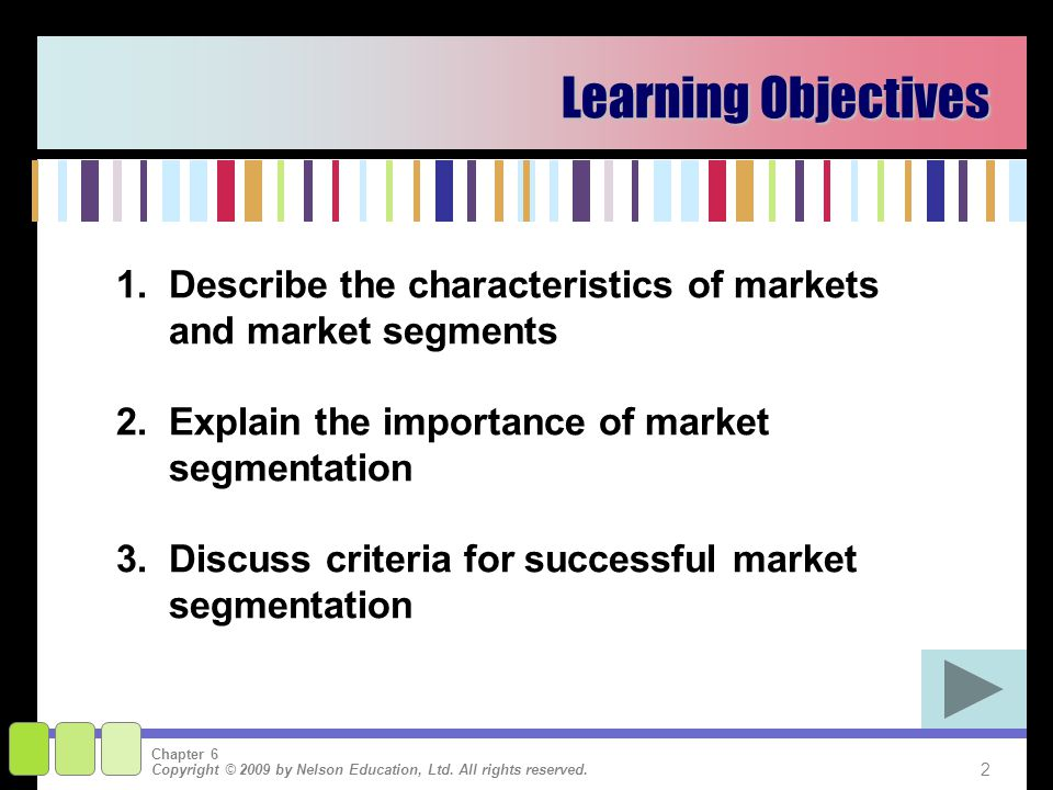 the role of market segmentation in guiding Journal of strategic marketing, 9:  and the role of segmentation in overcoming recessionary  the research question guiding this study is.