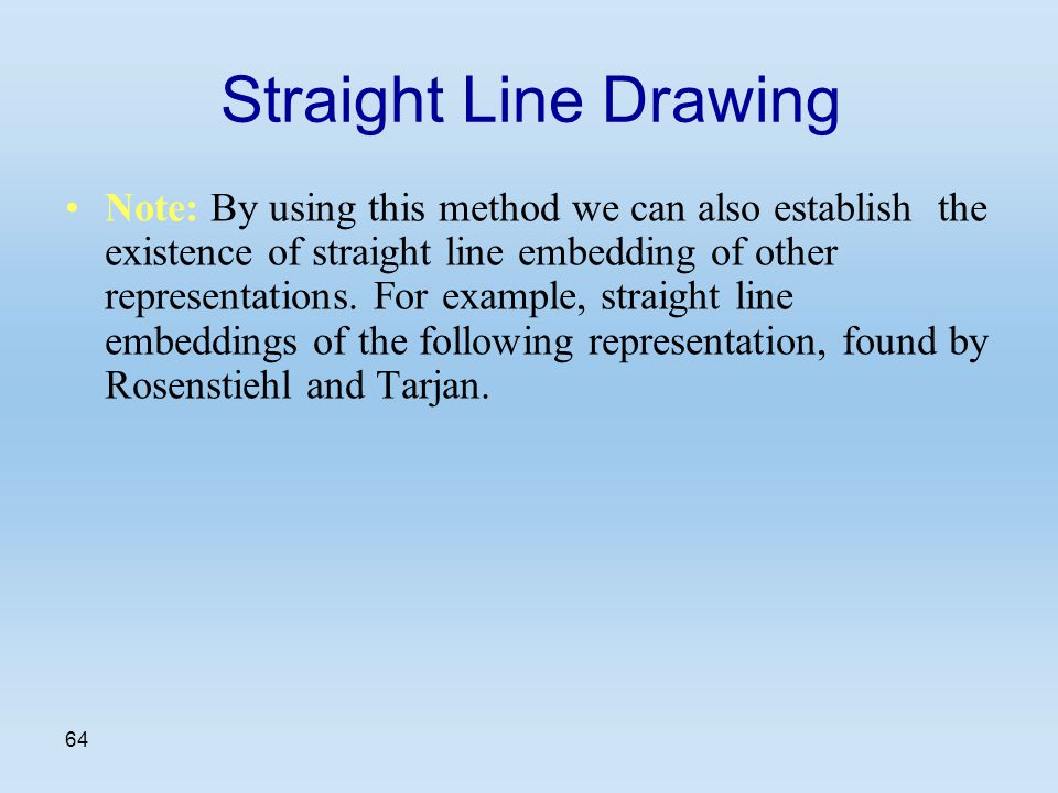 Line Drawing Using Direct Method : Computational geometry seminar lecture ppt video