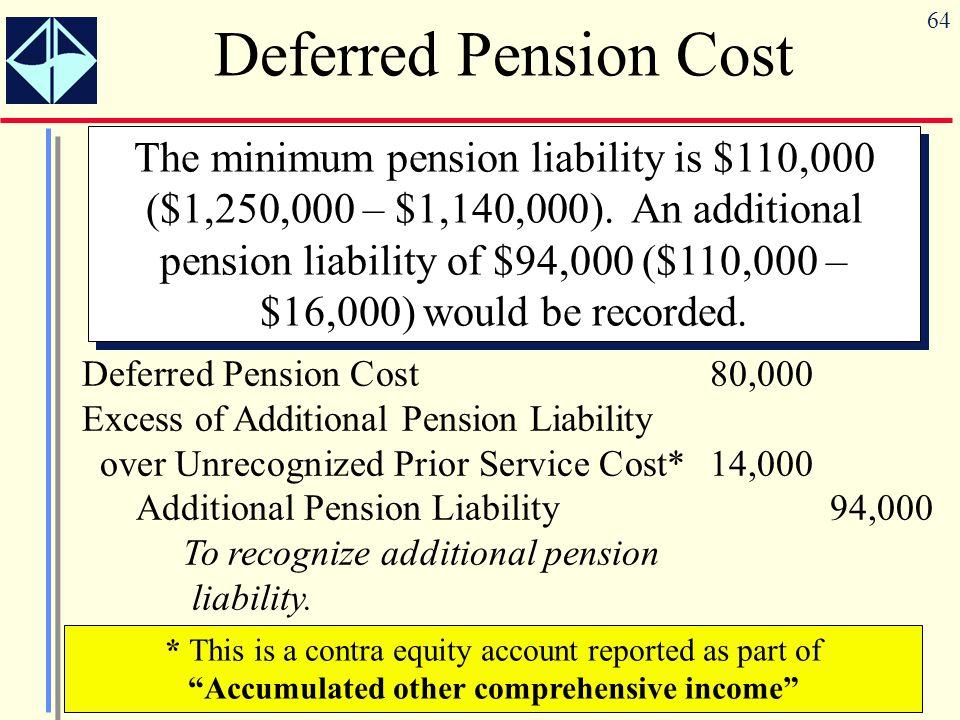 deferred pension