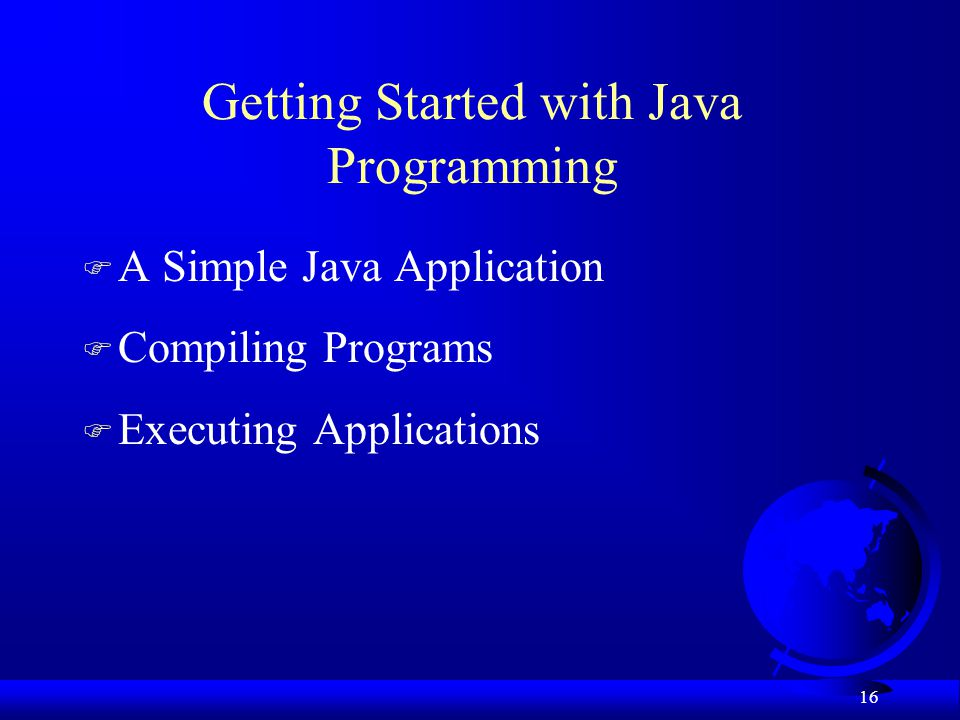 Getting Started with Java Programming