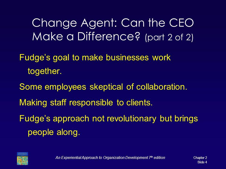 organisational development change agent