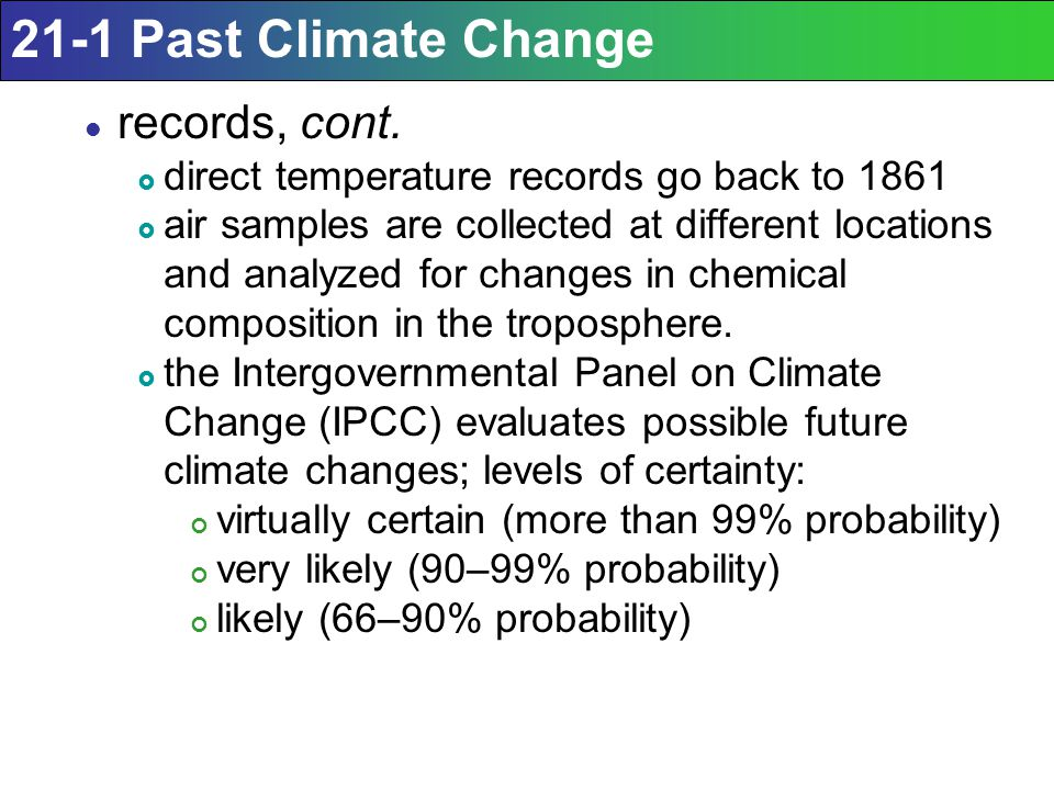 Human activities are impacting the climate system.
